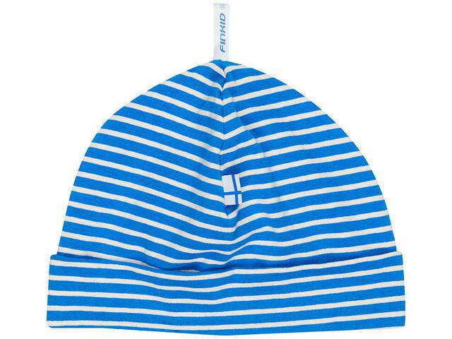 Finkid Hittili Gorro Niños, blue/offwhite